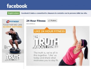 Facebook Landing Page 24 Fitness