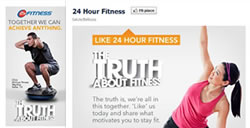 Web Marketing Centri Fitness 24 hours