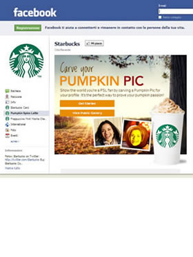 Facebook Starbucks 24/10/2011