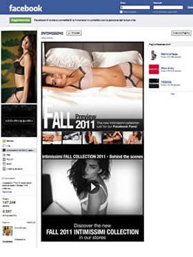 Facebook Intimissimi 24/10/2011