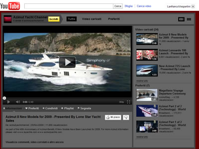 Youtube Azimut Yachts 25/10/2011