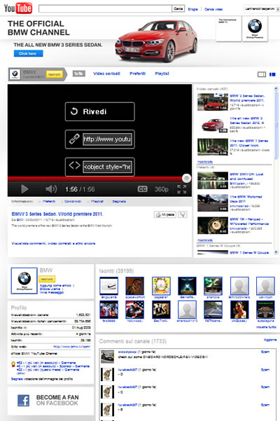 Youtube BMW 25/10/2011