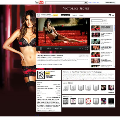 Youtube Victoria's Secrets 25/10/2011