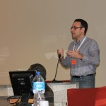 Gianfranco Fedele, web architect di Insem SpA e relatore del talk  presentato al Linux Day.