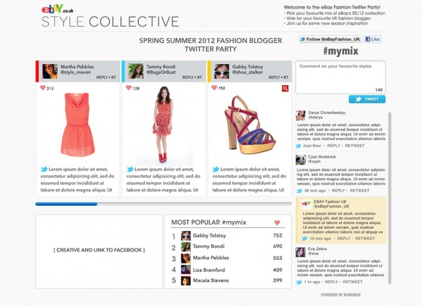 eBay social commerce